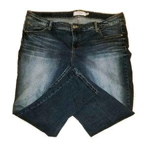 TORRID skinny jean size 20S (Short)